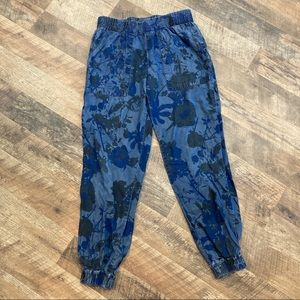Juicy Couture Floral Print pull on jogger